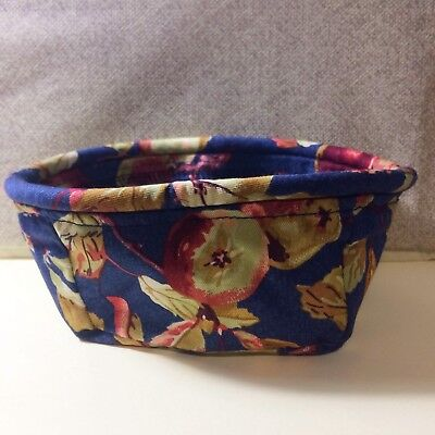Longaberger EARLY HARVEST fabric for Coaster Tote Basket - Liner Only