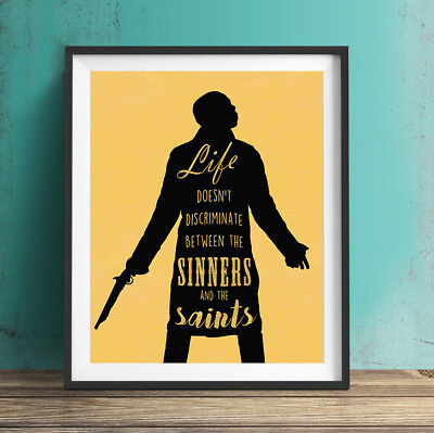 Hamilton Poster Print Musical Broadway 8x10 Aaron Burr Sinners & Saints