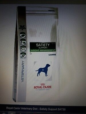 Croquettes pour Chien ROYAL CANIN Veterinary Diet Satiety Support SAT30 - 12Kg