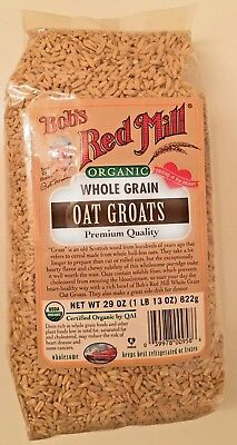 Bob's Red Mill Organic Whole Grain Oat Groats - 29-ounce