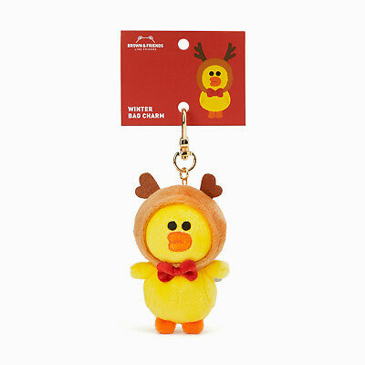 1a12c7d57e4a99 Line Friends Official Winter Collection SALLY BAG CHARM(11cm), Free  Shipping+Tra