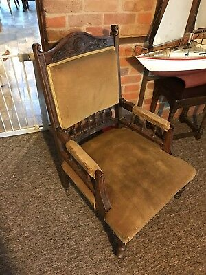 Edwardian Smokers Chair