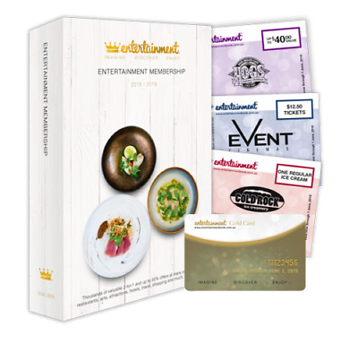 Melbourne Entertainment Book 2018/2019 - Single Vouchers