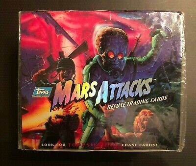 1994 Topps Mars Attacks Deluxe Trading Cards, Factory Sealed