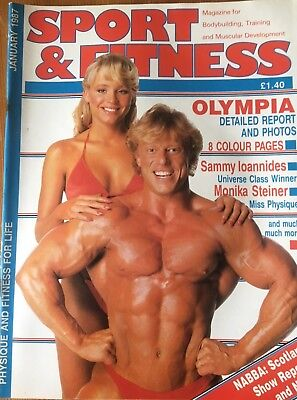 Sport & Fitness Magazine, January 1987,  on the cover Andreas Cahling