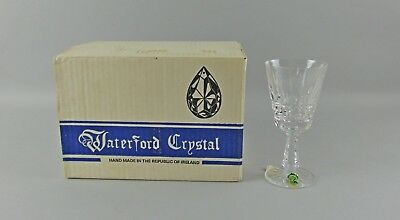 Set of 6 Waterford Crystal KYLEMORE Claret Wine Glasses in Box  NOS 2of2