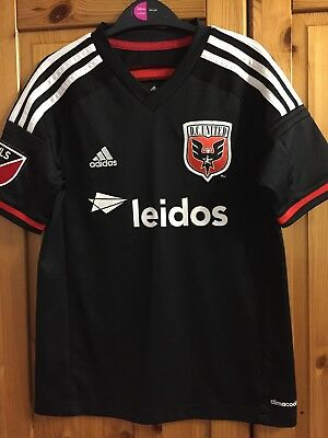 DC United MLS Football shirt for boys / girl size 11/12 years adidas