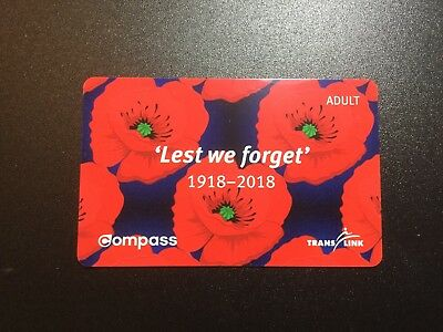 Commemorative Compass Card Adult Vancouver
