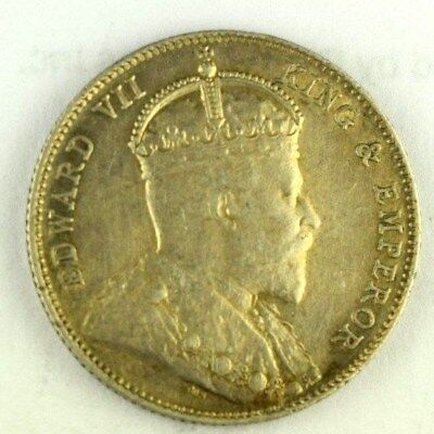 1910 Straits Settlements 20 Cents, No Reserve, Malaysia