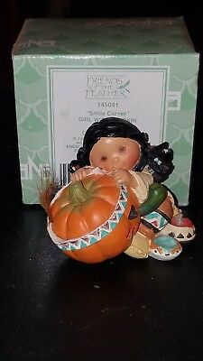 "Friends Of A Feather ""Smile Carver"" Enesco 1995"