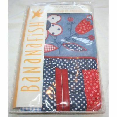 Bananafish Country Cottage Diaper Stacker