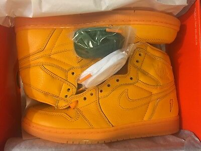 New Air Jordan One Retro 1 High Og Orange Gatorade Shoe Aj5997-880 Men Size 8