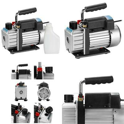 Flexzion Vacuum Pump HVAC Single Stage 3CFM 1/4HP Electric Rotary Vane...