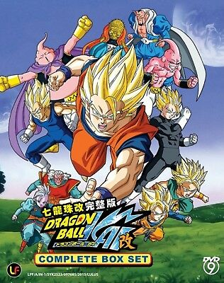 Anime DVD DRAGON BALL KAI Vol 1-167 END Complete Box ENGLISH AUDIO #A101 TBS