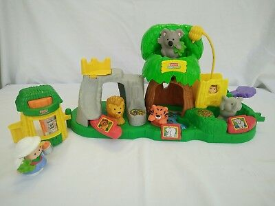 Fisher Price Little People Jungle Friends Zoo Sounds Play Set
