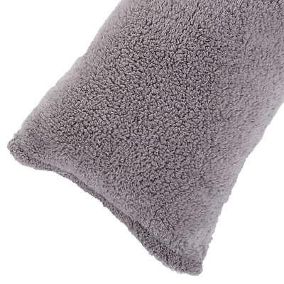 REAFORT ULTRA SOFT Sherpa Body Pillow CoverCase with Zipper