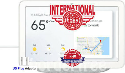 Google - Home Hub with Google Assistant - Chalk ✔ FREE INTERNATIONAL SHIPPING  ✔