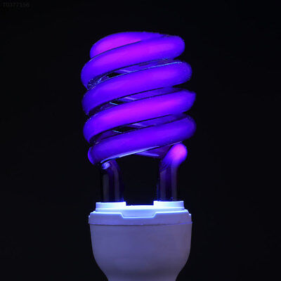 6DE4 E27 40W UV Ultraviolet Fluorescent Blacklight Light Bulb Lamp CFL Bright^