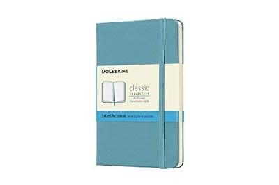 Moleskine Classic Notebook Pocket Dotted Reef Blue Hard Cover 3.5 X 5.5