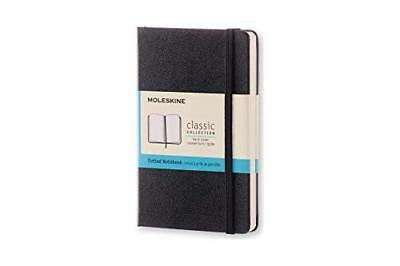 Moleskine Classic Notebook Pocket Dotted Black Hard Cover 3.5 X 5.5 Gift Quality