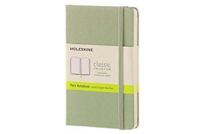 Moleskine Classic Notebook Pocket Plain Willow Green Hard Cover 3.5 X 5.5