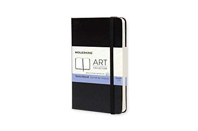 Moleskine Art Plus Sketchbook Pocket Plain Black Hard Cover 3.5 X 5.5