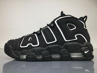nike air more uptempo uomo nere