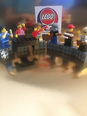 Grateful Dead Gift 80s Band Magnets Built Of LEGO Jerry Garcia Dead And co