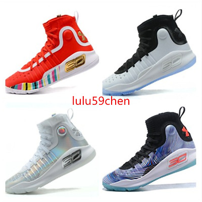 NEW Men's Under Armour Curry 4 TRAINING Basketball Shoes (10 Colors) 2018