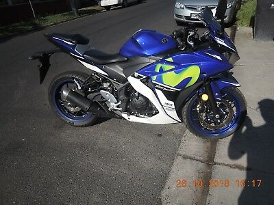 Yamaha R3 2016 Movistar With Abs Low Kms Runs Great Clear Title Lams Learner