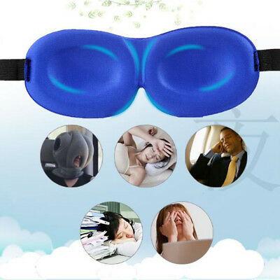 3D Eye Mask Shade Cover Rest Sleep Eyepatch Blindfold Shield Relax Sleep Aid Lot