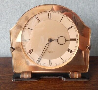 Vintage Art Deco Smiths Electric Clock - Untested