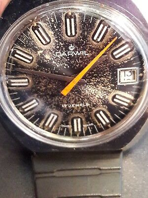 Vintage watch DARWIL, 17 jewels,central secondary,date, cal ST96-4N, Swiss made