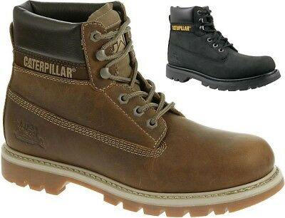 32f6e505da1309 CAT CATERPILLAR Colorado Leather Work Casual Ankle Shoes Boots Mens All  Size New