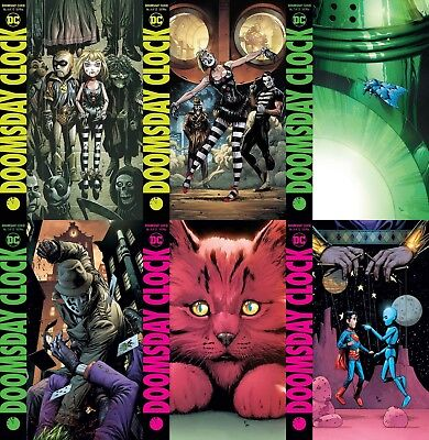 Doomsday Clock #6,7,8 ALL A and B VARIANT COVERS FREE SHIPPING Watchmen NM+