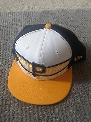huge selection of 8cd1c b3038 ... official pittsburgh pirates new era 9fifty original fit snapback hat  white yellow black 88acd b9b8f