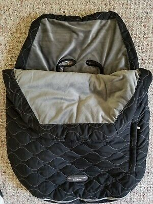 JJ Cole Collections Urban Bundle Me Infant Baby Black Car Seat Cover Stroller