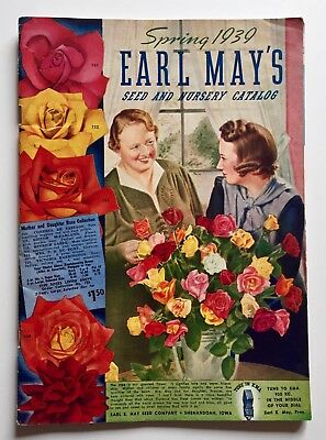 Vintage 1939 EARL MAY'S Seed and Nursery catalog