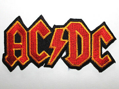 Aufnäher Aufbügler Patch AC/DC hells bells highway to hell back in black