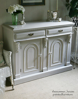 Stunning Antique Shabby Chic Sideboard Dresser Painted in Farrow & Ball