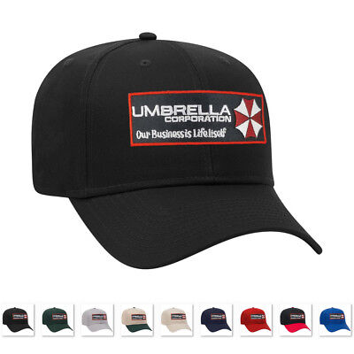 Umbrella Corporation Resident Evil Logo iron on patch with baseball caps hats