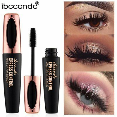 4D Silk Mascara Women Mascara Long Lasting Waterproof Eyelash Makeup Tool @Q