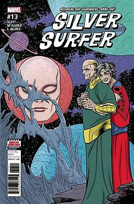 Silver Surfer #13  MARVEL COMICS 2016 SLOTT ALLRED COVER A