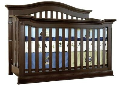 Baby Cache Montana 3 And 1 Crib And Toddler Bed Espresso& mattress LOCAL Pick up