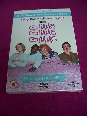New Sealed, Gimme Gimme Gimme: The Complete Collection (Box Set) DVD Series 1-3