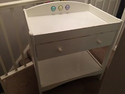 Mothercare Baby Changing Unit Table With Drawer Strong Sturdy Collection Bolton