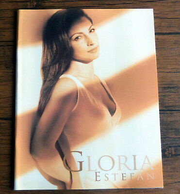 Gloria Estefan Official Tour Programme 28 Pages
