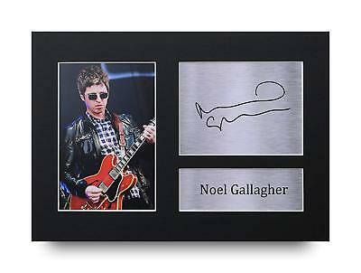 Noel Gallagher Gift Signed A4 Printed Autograph Oasis Music Print Gifts Photo