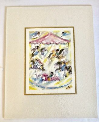 Ted DeGrazia Joy and Music Excellent condition