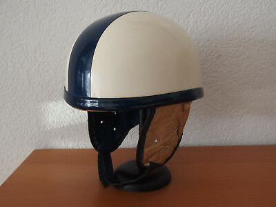 Casque Bol Ancien Moto Scooter Complet Bayard Super 301 Eur 19900